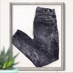 MISTY Justice Jeans Black Marble Girls Size 10
